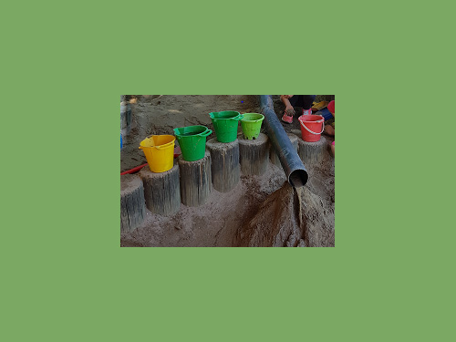 Sandkastenrohre